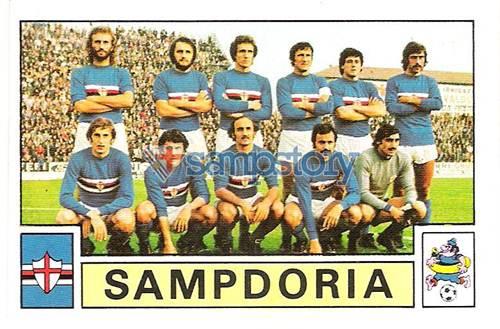 Figurina Calciatori - Edizioni Panini - 1975-76 Squadra Sampdoria