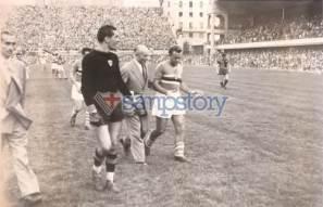Foto storica 1949 Genoa Sampdoria