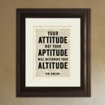 "Get Your Attitude ""Out of the Way""!"