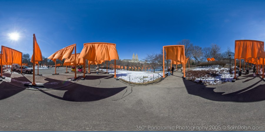 The Gates, Central Park :: New York City  :: 360° Panorama