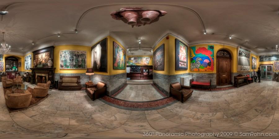 Chelsea Hotel Lobby