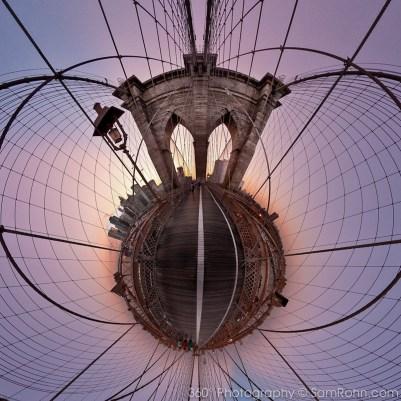 planet new york brooklyn bridge