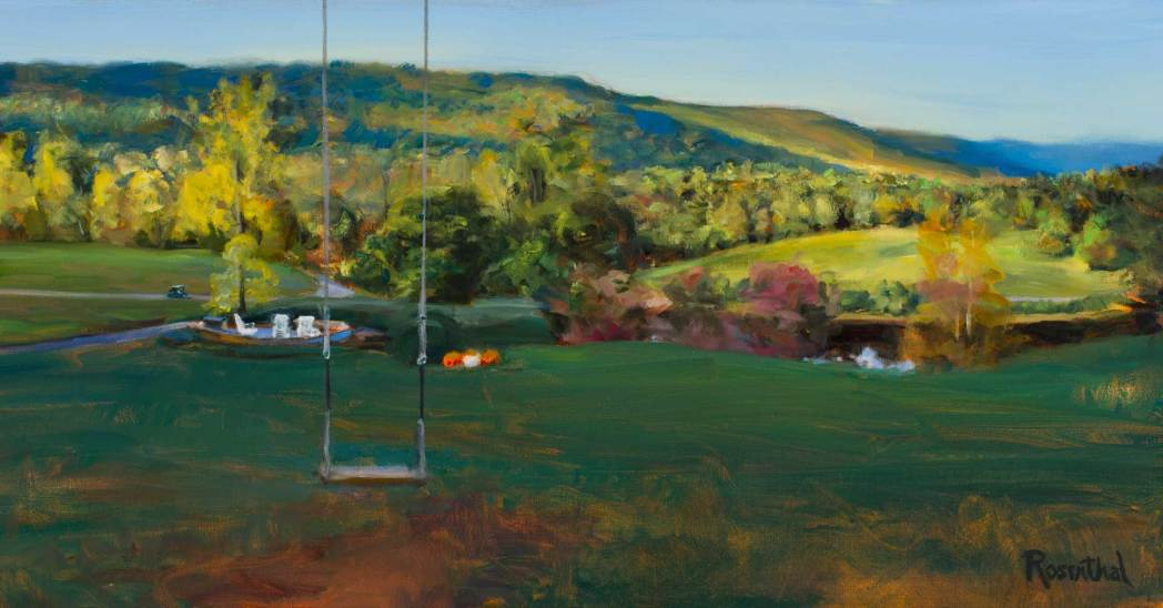 Blackberry Farm (swing), 19 X 36, Sold