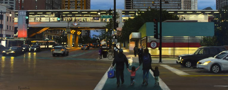 State Street and Roosevelt, 42 X 96