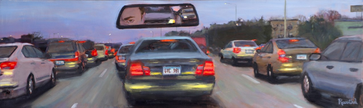 Traffic Jam,14 X 46