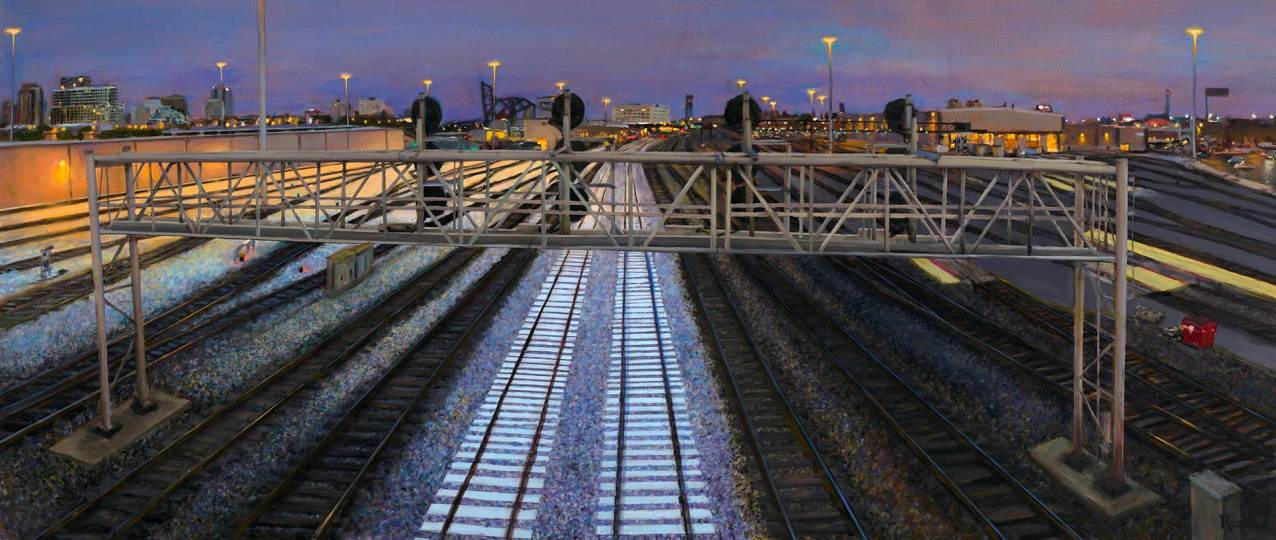 Train Signals, 35 X 84