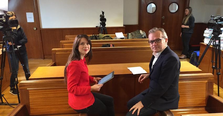 Philippe Couve interviewé par Valérie Brochard dans l'émission Médiapol sur la chaîne parlementaire LCP.