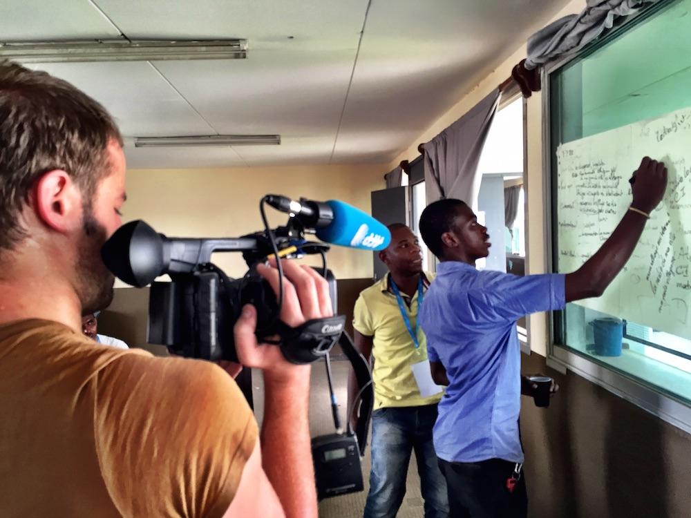 Programme Afrique Innovation à Abidjan (Photo: Philippe Couve)