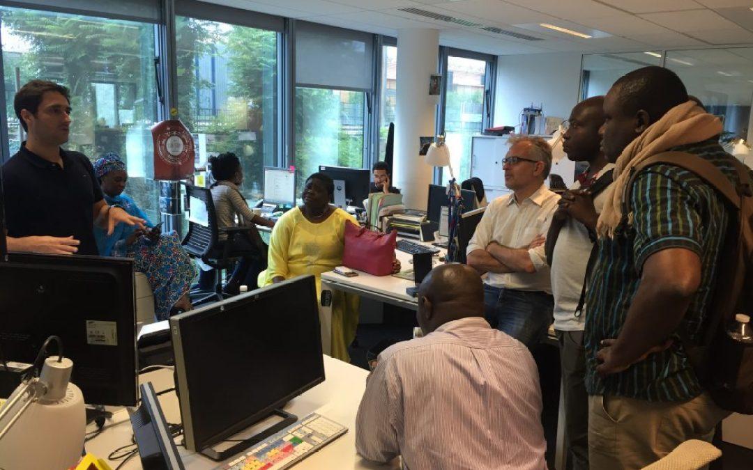 Séminaire stratégie web et réseaux sociaux pour la CRTV (Cameroun)
