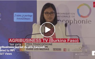Une nouvelle récompense internationale pour la première webTV africaine conçue pour mobiles