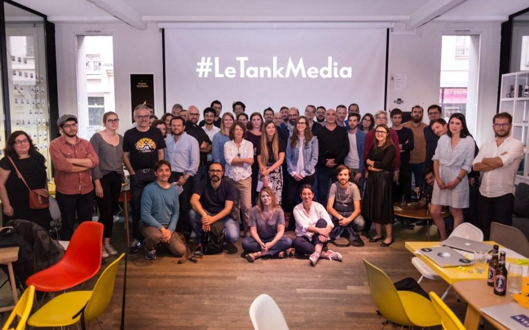 Samsa.fr s'installe au Tank et rejoint le projet Le Tank média
