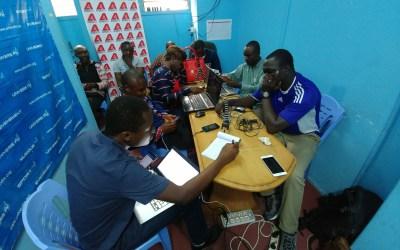 RD Congo: des journalistes formés à la vidéo avec mobile par Samsa.fr