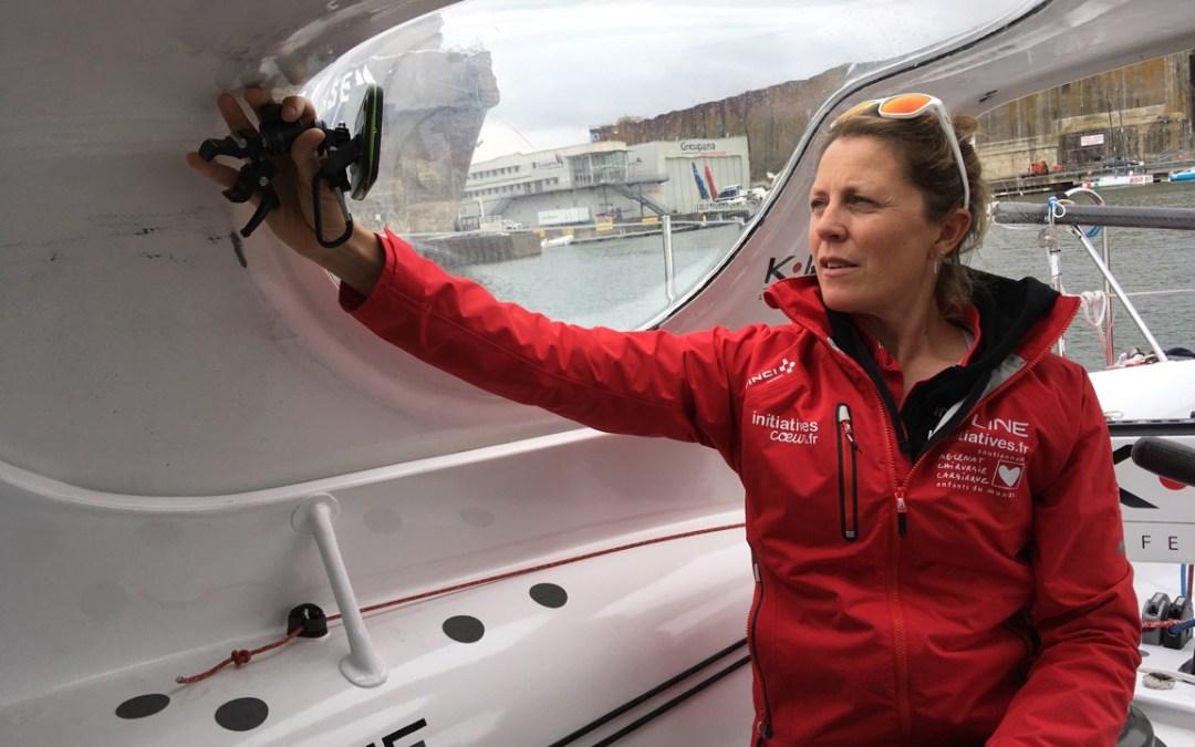 Route du rhum 2018 : Samsa.fr forme la skippeuse Samantha Davies
