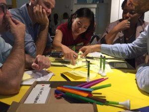 Séance de créativité design thinking