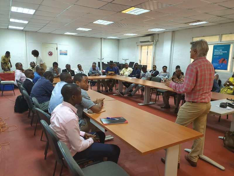 Mission en RD Congo auprès de Radio Okapi