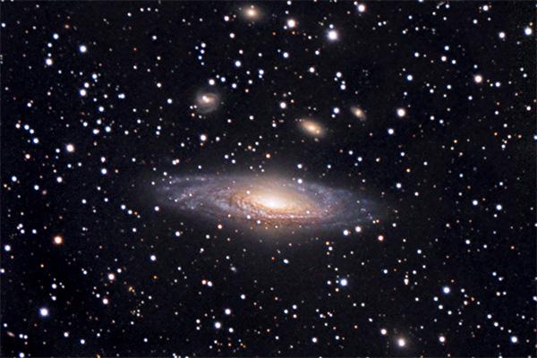 NGC 7331 Deer Lick Group of Galaxies