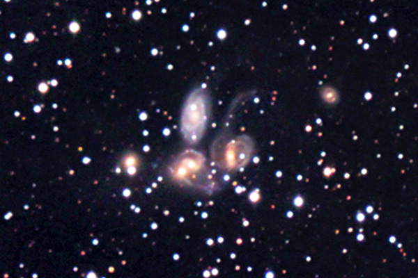 Stephan's Quintet NGC 731