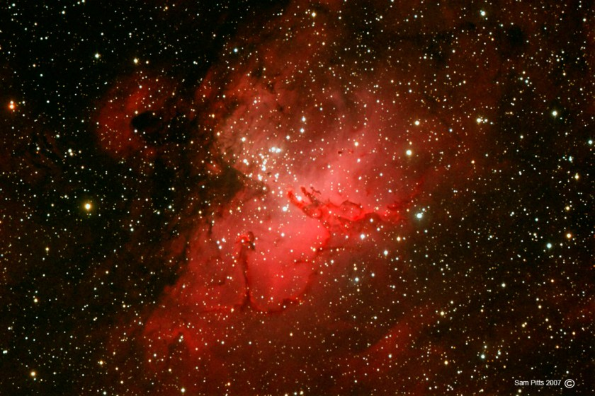 Eagle Nebula M16 NGC 6611 20070620