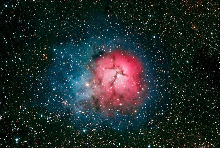 Trifid Nebula M20 NGC 6514