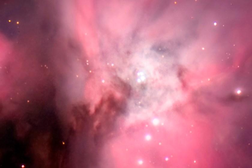M42 Orion Nebula & Running Man Nebula NGC 1973