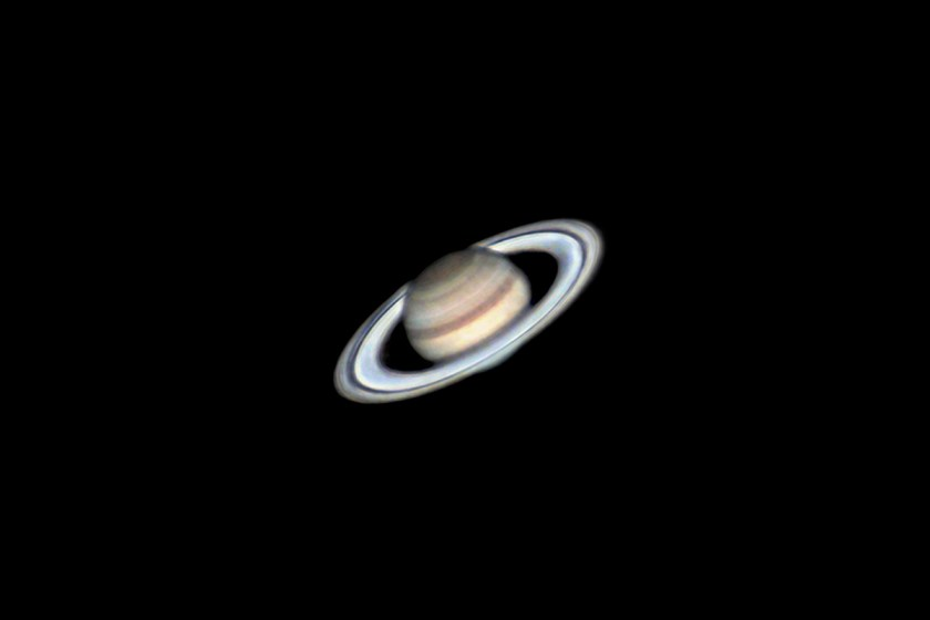 Saturn Taken with Celestron C14 f/27 07/19/2020