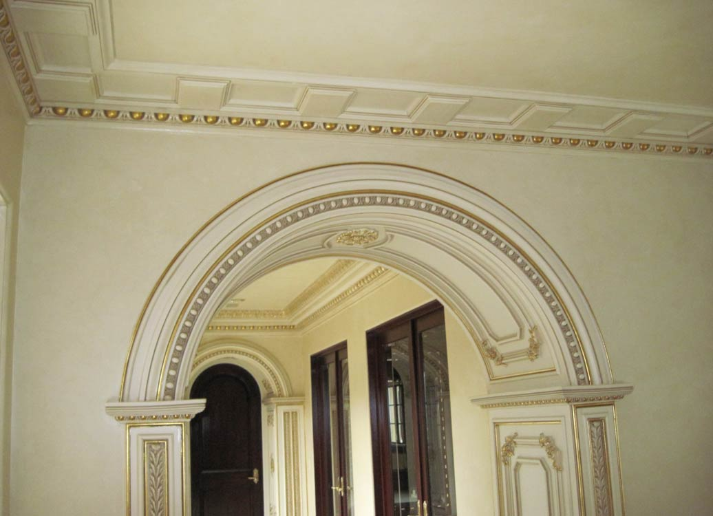 Columns And Archs Sams Interior Finish