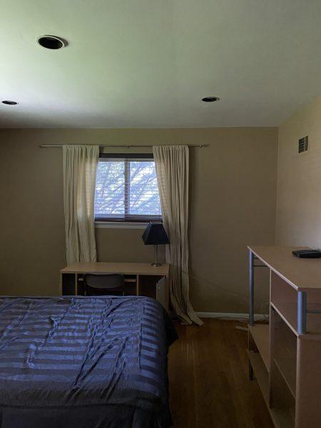 Master bedroom for rent in great neighborhood $800 including utilities.