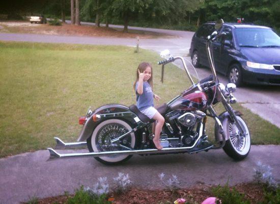 John Aaron Motorcycle