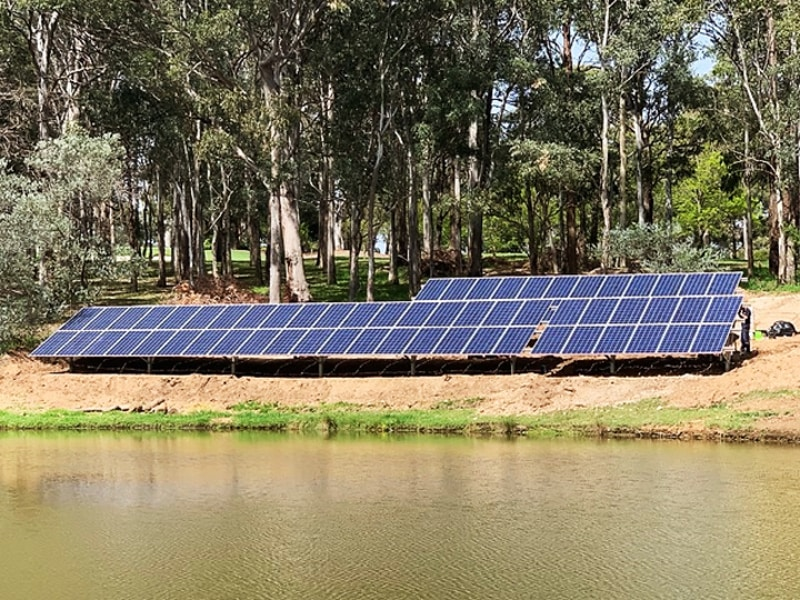 Sams Solar Power Installation Projects - Bella Vista Golf Club NSW 1