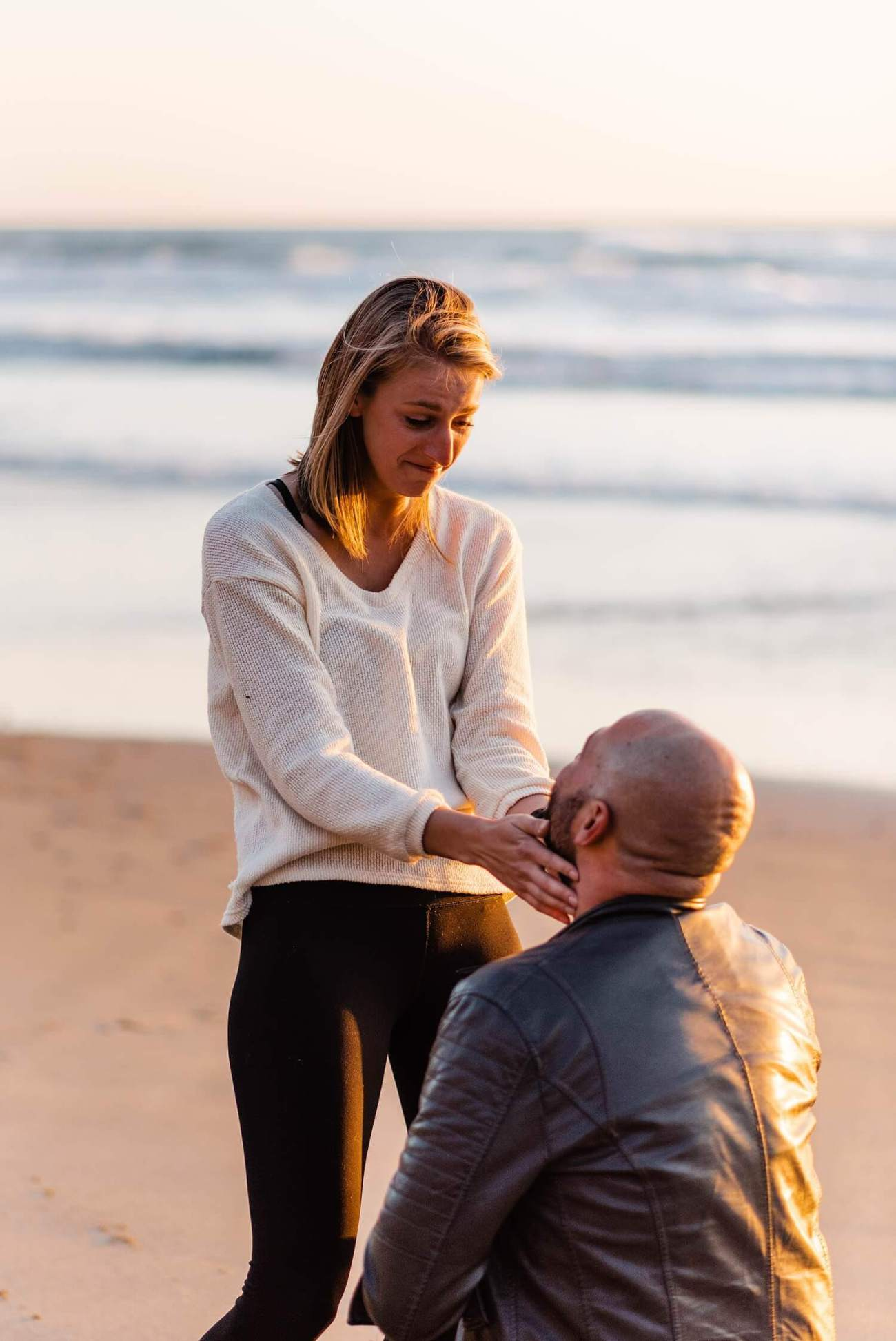 beach proposal,cape perpetua,elope,engagement session,neptune beach,oregon coast proposal,oregon wedding photographer,pacific northwest,