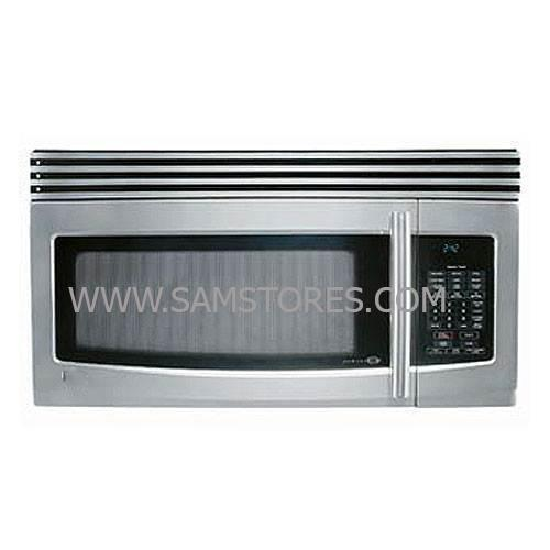 lg lmv1650st 1 6 cu ft over the range microwave stainless steel factory refurbished only for usa