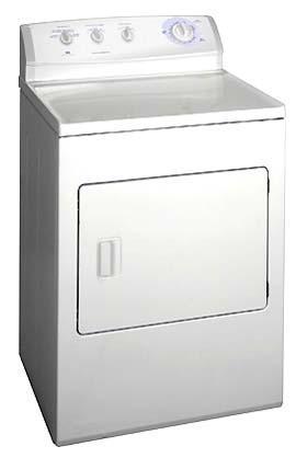 WHITE WESTINGHOUSE DRYERS WER341ZAS 220v Appliances 110 220 Amp 240v Appliances Mul