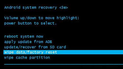 factory reset your samsung phone