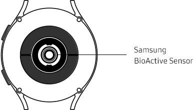 44mm Galaxy Watch4 sensor information