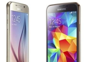 New Samsung Galaxy S6 vs Galaxy S5