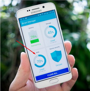 smart manager samsung galaxy s6