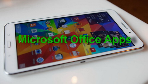 microsoft office apps samsung galaxy s6