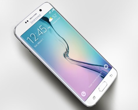 Samsung Galaxy S6 Edge Display