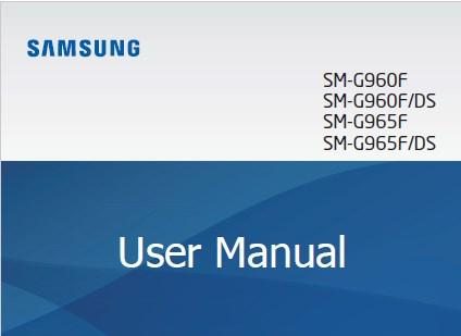 Samsung Galaxy S9 User Manual UK