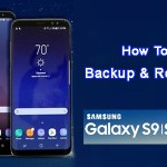 How to Backup and Restore Samsung Galaxy S9 and S9+ via Samsung Account
