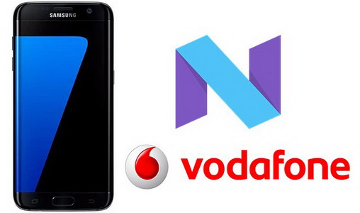 Android 7.0 Nougat for Vodafone Galaxy S7