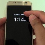 How to Activate Samsung Galaxy S7 Night Clock