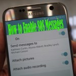 How to Enable SOS Messages on the Galaxy S7