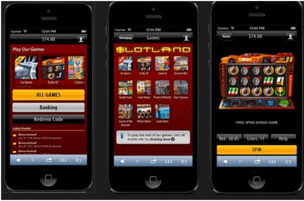 Slotland Casino Samsung App