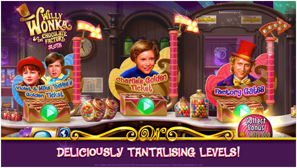 Willy Wonka Slots App