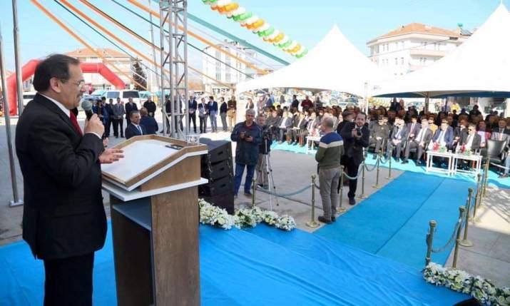 Vezirköprü Tarım Kredi Kooperatifi Yeni Binasında