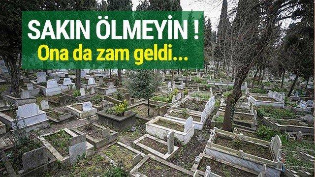Samsun'da mezar fiyatlarına zam yapıldı!