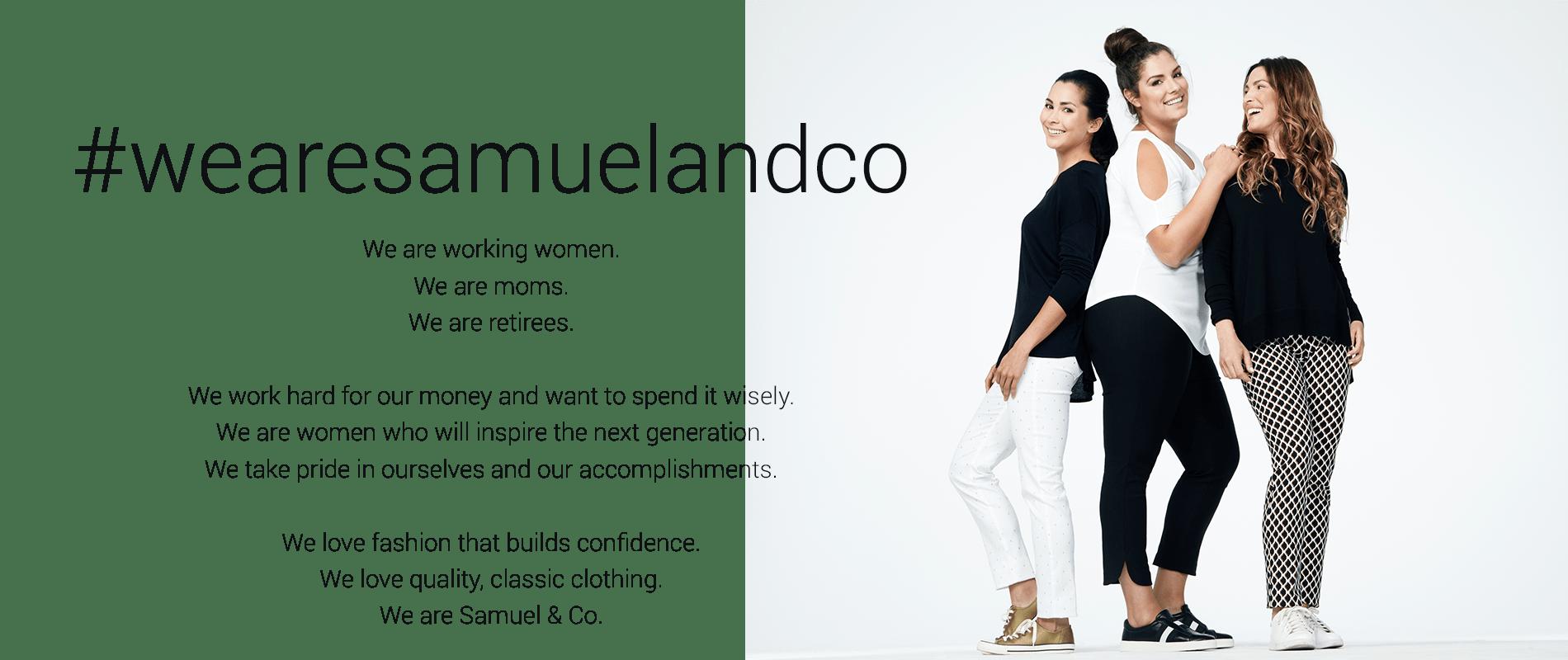 b628ef81a784 wearesamuelandco women s clothing in atlantic canada - Samuelandco