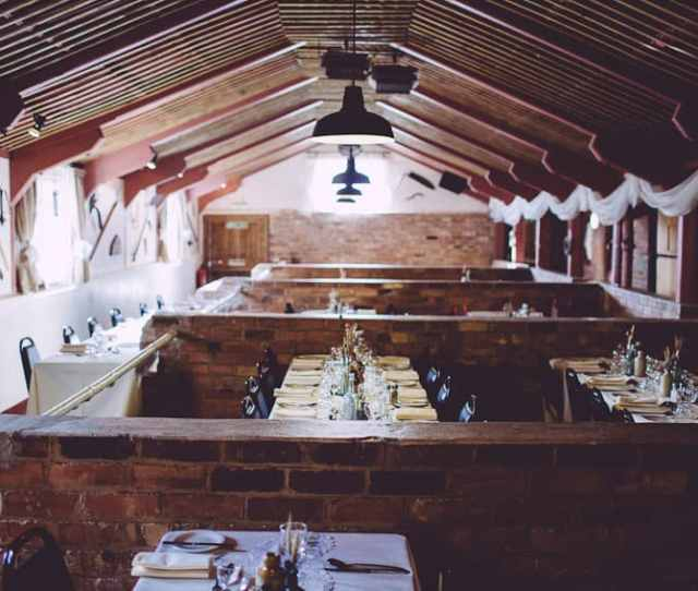 Donington Park Farmhouse Barn Wedding Tables