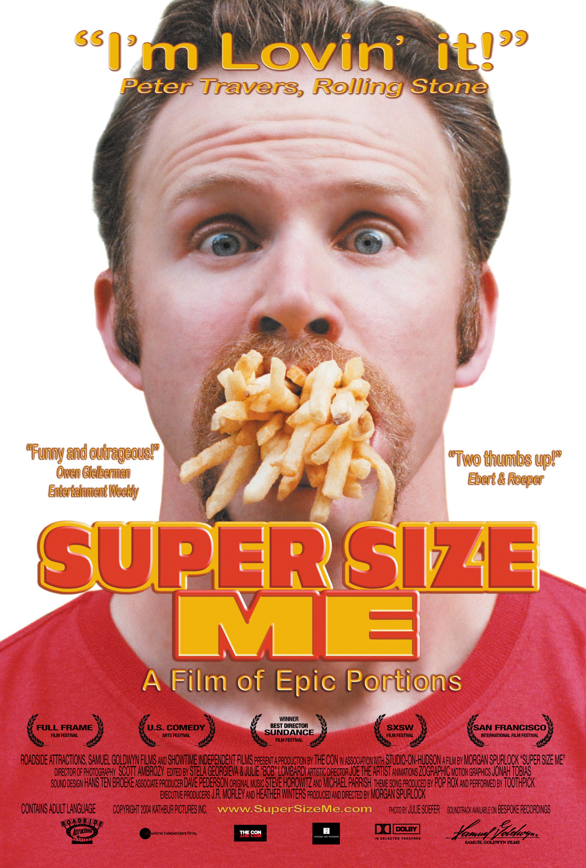 Super Size Me Samuel Goldwyn Films